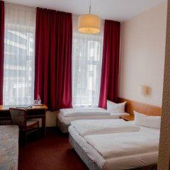 Hotel Residence am Hauptbahnhof 3* Стандартный номер с различными типами кроватей