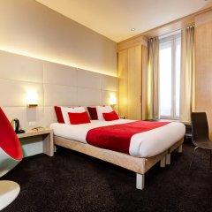 Отель Hôtel Elixir 3* Стандартный семейный номер с двуспальной кроватью фото 11