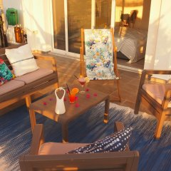 Отель Summer Dream Penthouse Албания, Саранда - отзывы, цены и фото номеров - забронировать отель Summer Dream Penthouse онлайн комната для гостей фото 3