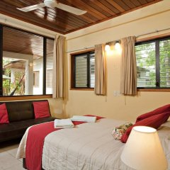 Hotel Jaguar Inn Tikal 3* Бунгало с различными типами кроватей фото 17