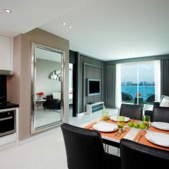 Отель Amari Residences Pattaya 4* Улучшенный номер с различными типами кроватей фото 6