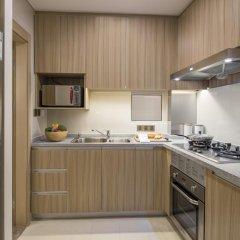 Отель Somerset Xu Hui Shanghai 4* Улучшенные апартаменты с различными типами кроватей фото 4