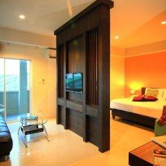 Отель Cool Residence 3* Улучшенный номер двуспальная кровать фото 3