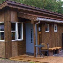 Отель Odda Camping балкон