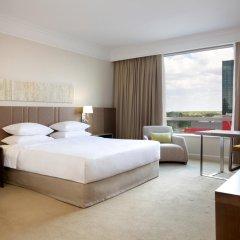 Отель Hyatt Regency Belgrade 5* Номер Делюкс с различными типами кроватей фото 4