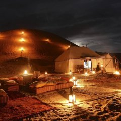 Отель Desert Luxury Camp Марокко, Мерзуга - отзывы, цены и фото номеров - забронировать отель Desert Luxury Camp онлайн бассейн