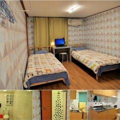 Отель Backpackers Inside Стандартный номер с 2 отдельными кроватями