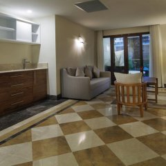 Отель Nirvana Lagoon Villas Suites & Spa 5* Люкс повышенной комфортности с различными типами кроватей фото 29
