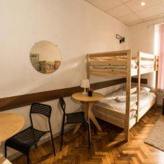 Хостел Архитектор Кровать в общем номере с двухъярусной кроватью фото 24