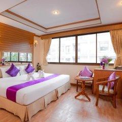 Отель Bangkok Residence 2* Улучшенный номер с двуспальной кроватью фото 2