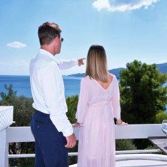 Отель Panorama Apartments Греция, Порос - 1 отзыв об отеле, цены и фото номеров - забронировать отель Panorama Apartments онлайн балкон