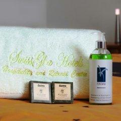 Отель SwissGha Hotels Christian Retreat & Hospitality Centre ванная фото 2