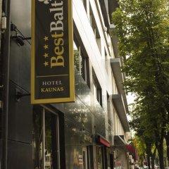 Отель Best Baltic Kaunas Hotel Литва, Каунас - 2 отзыва об отеле, цены и фото номеров - забронировать отель Best Baltic Kaunas Hotel онлайн вид на фасад