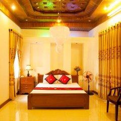 Отель Hoa Mau Don Homestay Улучшенный номер с различными типами кроватей фото 6