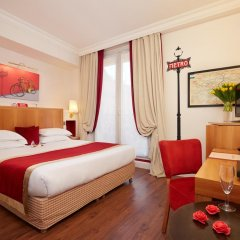 Отель Hôtel Waldorf Trocadéro 4* Стандартный номер с различными типами кроватей фото 3