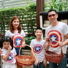 Dusit Suites Hotel Ratchadamri, Bangkok Бангкок спортивное сооружение
