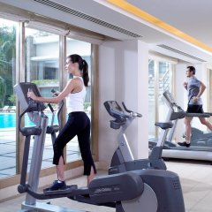 Отель Oberoi Нью-Дели фитнесс-зал фото 2
