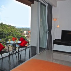 Апартаменты Chic Karon Studio Sea View комната для гостей фото 4