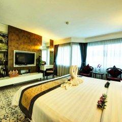Jomtien Garden Hotel & Resort 4* Номер Делюкс с различными типами кроватей фото 6