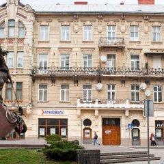 Гостиница Romantic In Lviv 500m From Opera Апартаменты разные типы кроватей фото 5
