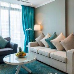 Отель Jannah Marina Bay Suites Улучшенная студия с различными типами кроватей фото 4