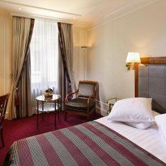 Отель Schweizerhof Zürich 4* Стандартный номер с различными типами кроватей