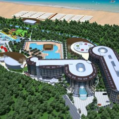 Sunmelia Beach Resort Hotel & Spa - All Inclusive вид на фасад