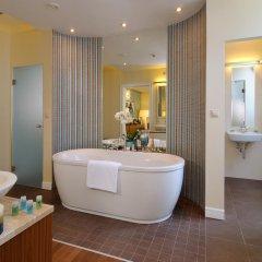 Отель La Prima Fashion Hotel Венгрия, Будапешт - 12 отзывов об отеле, цены и фото номеров - забронировать отель La Prima Fashion Hotel онлайн ванная