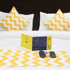 Отель FabHotel Aksh Palace Golf Course Road 3* Номер Делюкс с различными типами кроватей фото 13