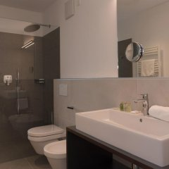 Hotel Unterstein Чермес ванная