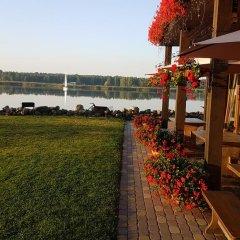 Отель Guest House And Camping Jurmala Юрмала приотельная территория фото 2