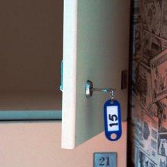 Hostel Panamas Стандартный семейный номер с разными типами кроватей фото 10