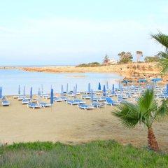 Отель Green Bay Villa Кипр, Протарас - отзывы, цены и фото номеров - забронировать отель Green Bay Villa онлайн пляж фото 2