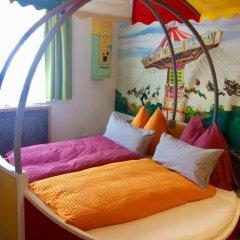 Отель Pension Haus Sanz 3* Улучшенный номер с различными типами кроватей фото 12