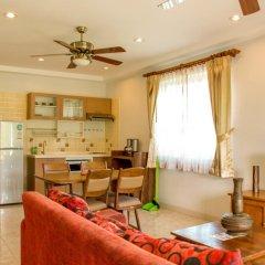 Отель Baan Rosa 3* Стандартный семейный номер разные типы кроватей фото 3