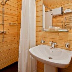 Гостиница Золотая бухта Улучшенное бунгало с различными типами кроватей фото 8