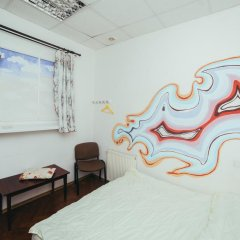 Art Hostel Стандартный номер с двуспальной кроватью (общая ванная комната) фото 3