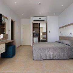 Stamatia Hotel 3* Улучшенный номер с двуспальной кроватью фото 13