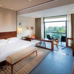 Отель Hilton Sanya Yalong Bay Resort & Spa 5* Стандартный номер с различными типами кроватей фото 3