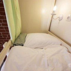 Волхонка хостел Кровать в мужском общем номере с двухъярусными кроватями фото 5