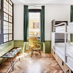 Hostel Generator Rome Кровать в общем номере с двухъярусной кроватью