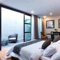 Отель Aleesha Villas 3* Вилла Делюкс с различными типами кроватей фото 3