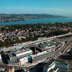 Отель Four Points by Sheraton Sihlcity Zurich Швейцария, Цюрих - отзывы, цены и фото номеров - забронировать отель Four Points by Sheraton Sihlcity Zurich онлайн балкон