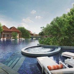 Отель Resorts World Sentosa - Beach Villas 5* Вилла с различными типами кроватей фото 2