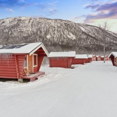 Отель Tromsø Camping Коттедж Эконом с различными типами кроватей фото 5