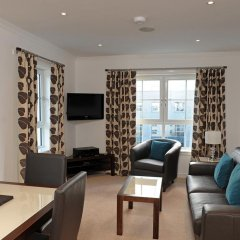 Отель Fountain Court Apartments - Grove Executive Великобритания, Эдинбург - отзывы, цены и фото номеров - забронировать отель Fountain Court Apartments - Grove Executive онлайн комната для гостей фото 2