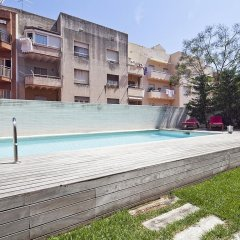Отель Barcelona Charming Guell Terrace Испания, Барселона - отзывы, цены и фото номеров - забронировать отель Barcelona Charming Guell Terrace онлайн бассейн