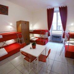 Palladini Hostel Rome Номер Делюкс с различными типами кроватей фото 2