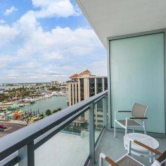 Отель Wyndham Grand Clearwater Beach 4* Номер Делюкс с двуспальной кроватью фото 7