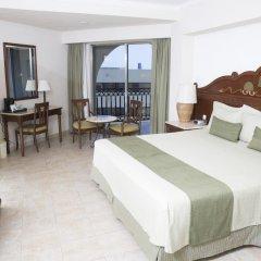 Отель GR Solaris Cancun - Все включено 5* Номер Делюкс с различными типами кроватей фото 6